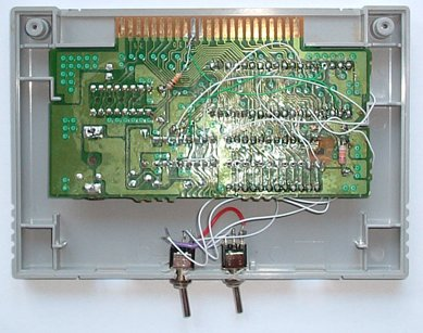 Flash cart - PCB back