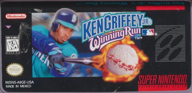 40c798e47d Ken Griffey Jr.'s Winning Run. M/SNS-A9GE-USA (USA)