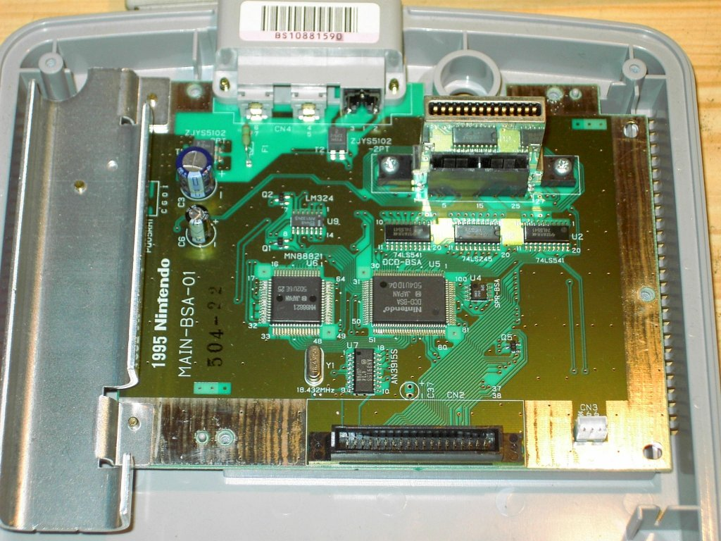 Satellaview PCB - Front