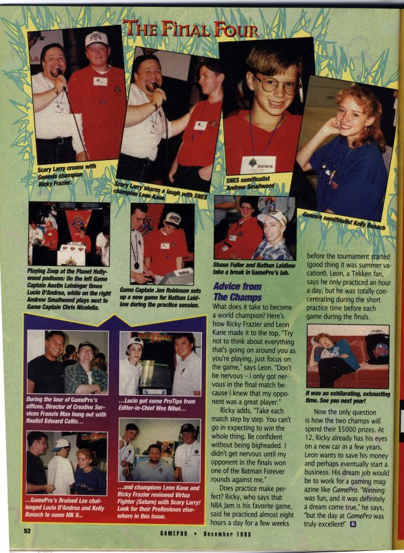 Gamepro article on the Blockbuster World Video Game Championship (Page 3)