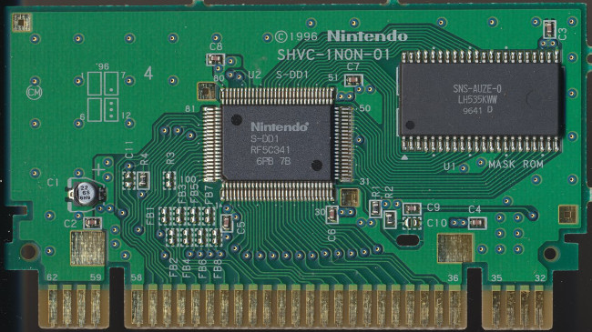 Snes Central: PCB Board - SHVC-1N0N-01