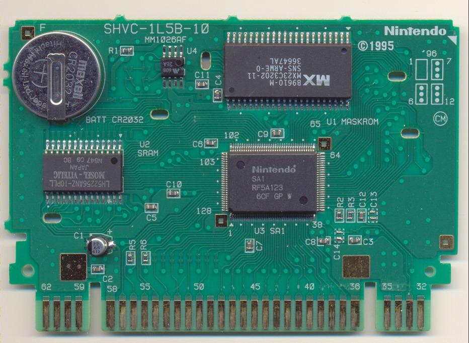 Snes Central: PCB Board - SHVC-1L5B-10