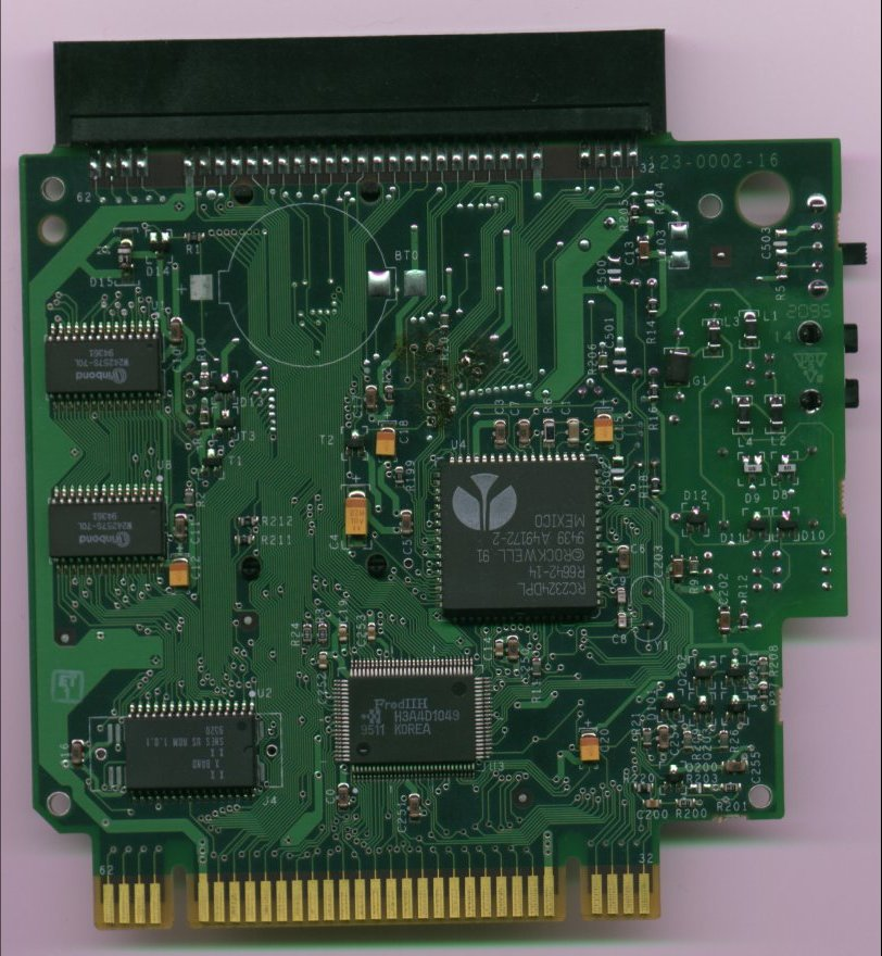 X-Band PCB - front