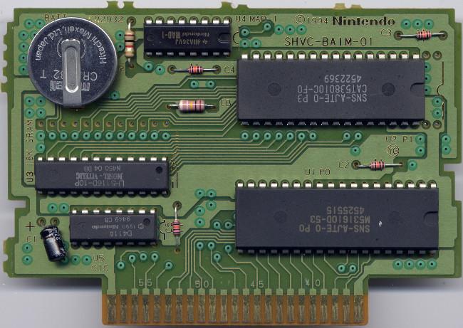 Snes Central: PCB Board - SHVC-BA1M-01
