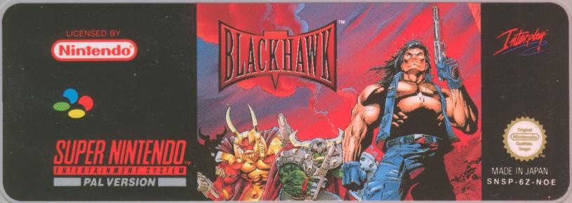 Snes Central Blackthorne Blackhawk