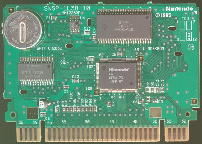 Snes Central: PCB Board - SHVC-1L3B-10
