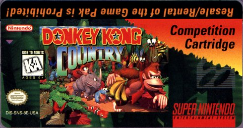 Image result for Donkey Kong Country Competition Edition